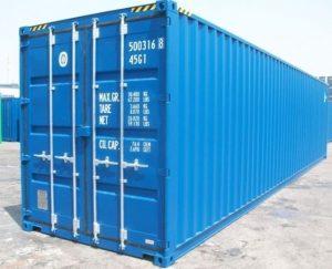 Conténeur 40 pieds high cube neuf