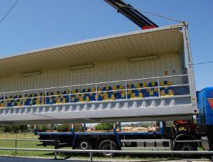 Container tribune